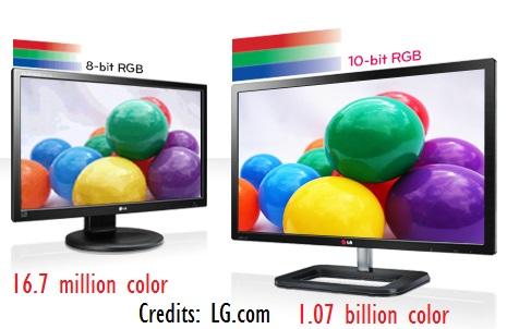 8 bit vs. 10 bit color in 4K TV's