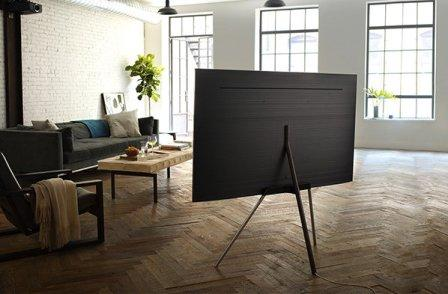 Samsung QLED TV studio stand
