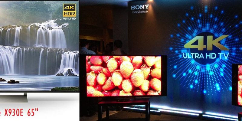 Sony 4k TV Series 2017