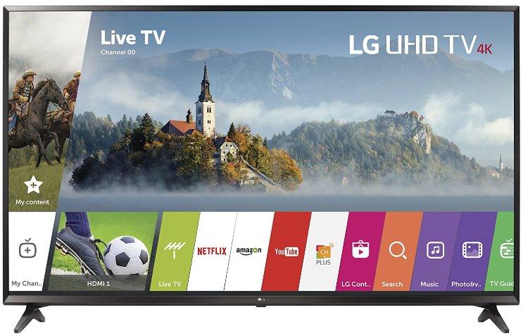 LG UJ6300 budget 4K TV