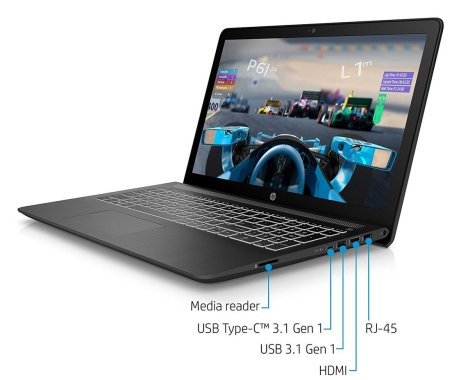 HP Pavilion Power 15-inch Budget Gaming Laptop for 2018