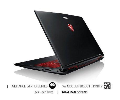 MSI GL62M Great Gaming Laptop