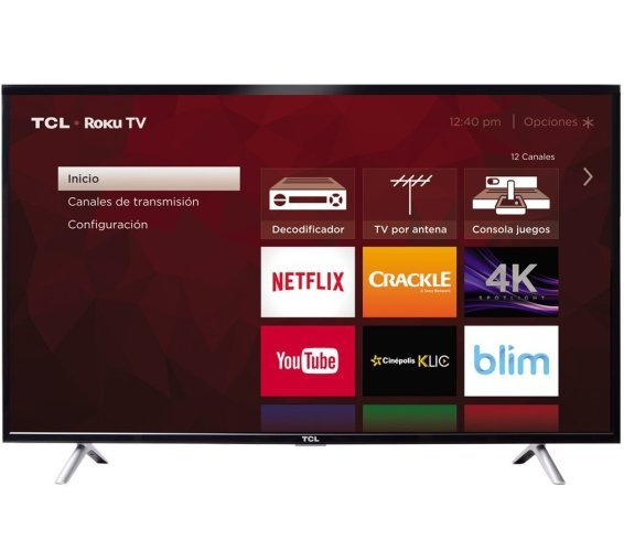 TCL S405 Roku view