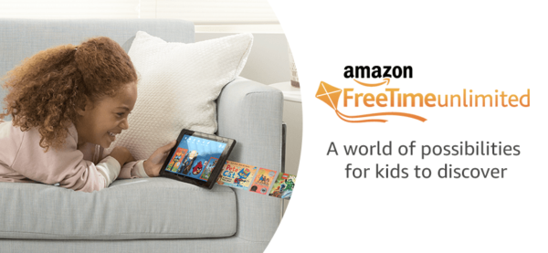 Amazon FreeTime unlimited 1 month free trial