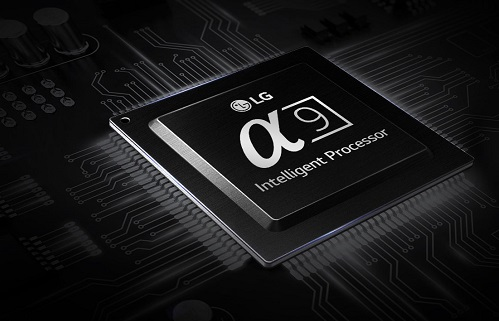 LG A9 processor for Series 8 OLED